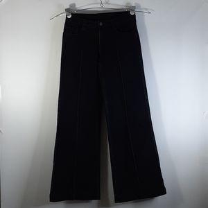 AZI Jeans  Black Ultra Flare Size 4